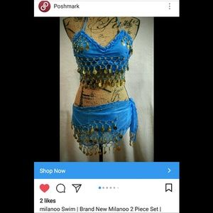 SPONSORED ON IG! BRAND New Belly Dancer Set